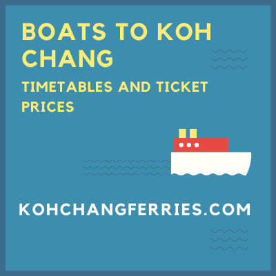 Information about ferries to Koh Chang